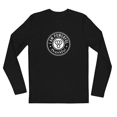 """I am Powerful"" Seal Long Sleeve Men's Crew T-Shirt"