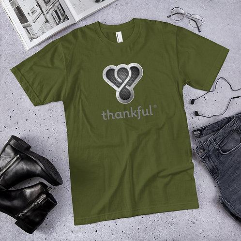 "Thankful ""Silver Music Speaker"" Short Sleeve Men's Jersey T-Shirt"