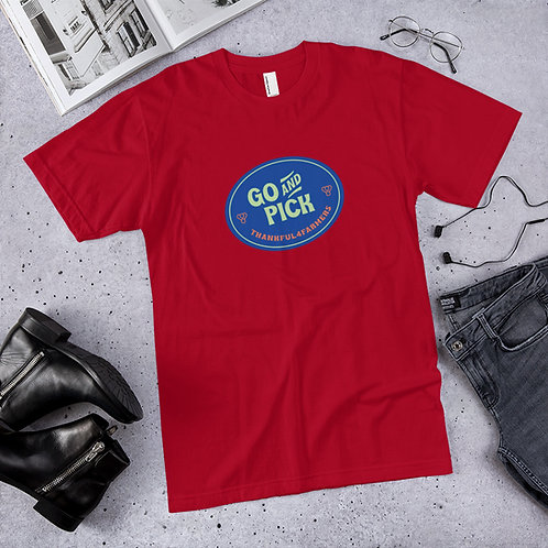 """Go And Pick"" Men's Short sleeve T-Shirt"