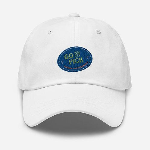 """Go And Pick"" baseball cap"