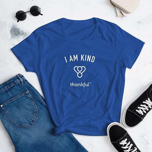 """""""I am Kind"""" Emblem Short Sleeve women's T-Shirt"""