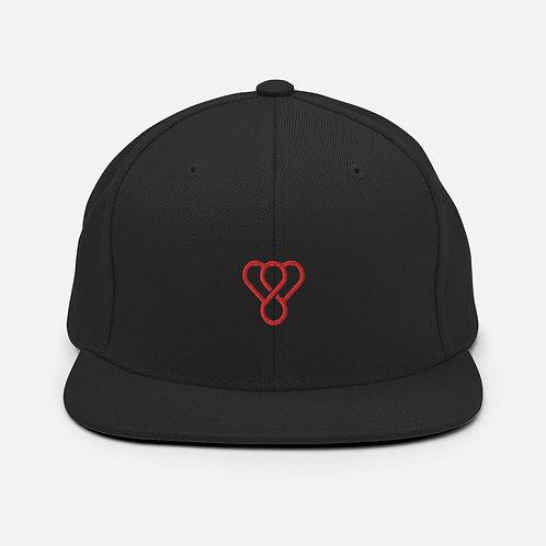 "Thankful ""Red Logo"" Snapback Embroidered Hat"