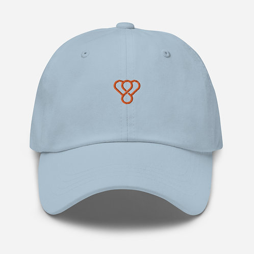 "Thankful ""Orange Logo"" Embroidered Unisex Cap"