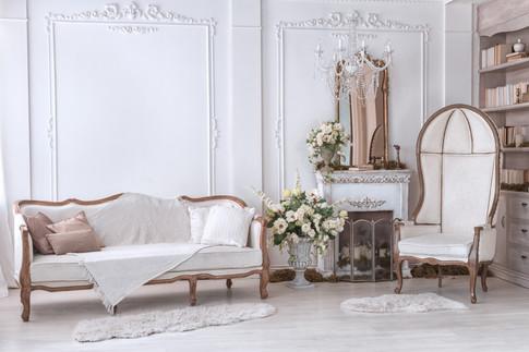 Opulant Georgianesque Sitting Room