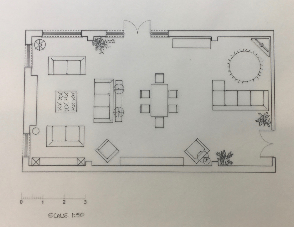 Technical Interior Drawing