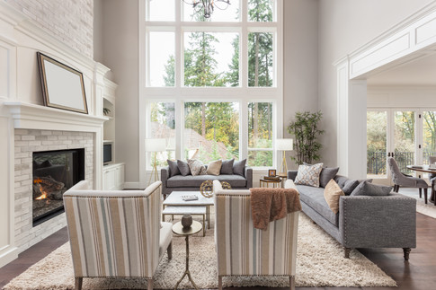 Airy sitting room