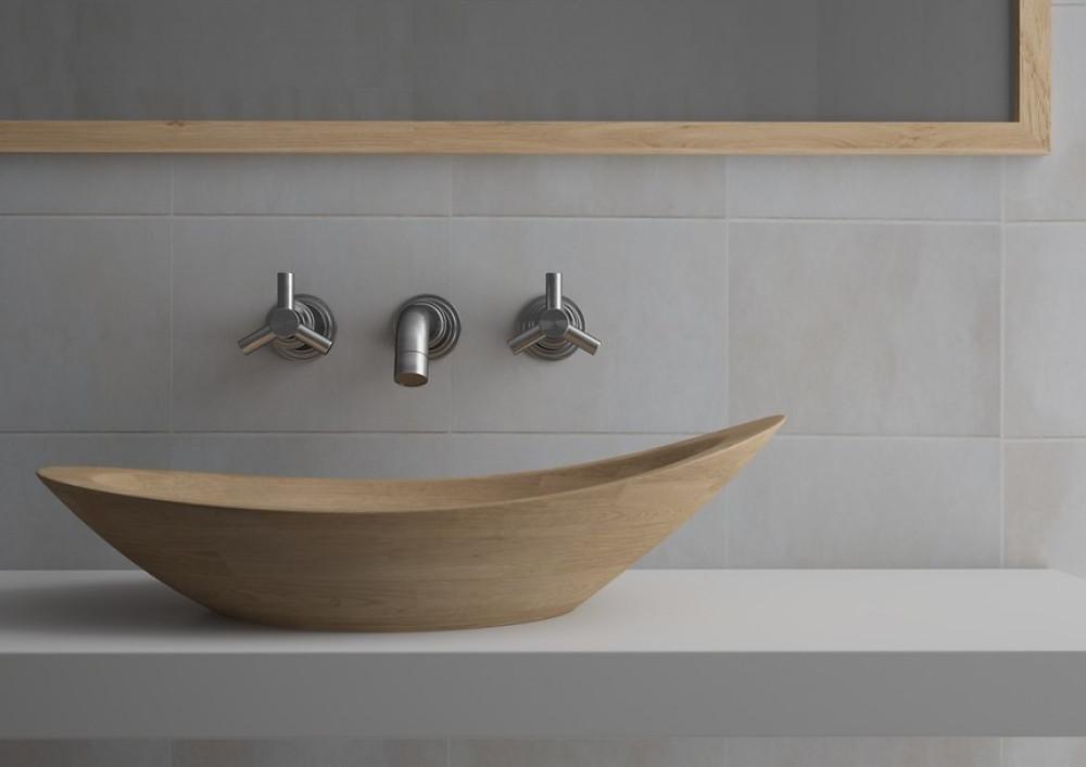 Accoya hand basin