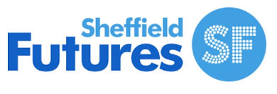 Logo for Sheffiel Futures - working with local underprivileged