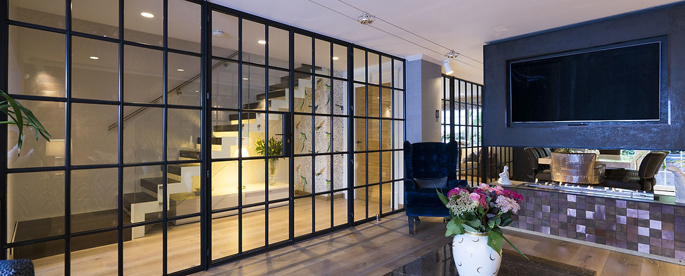 Crittall partition doors