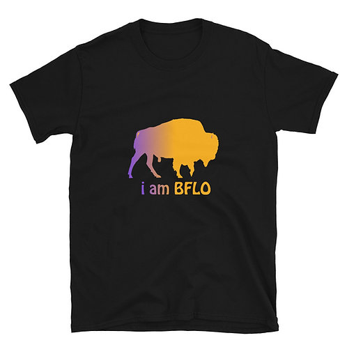 i am BFLO Basic Short-Sleeve Unisex T-Shirt