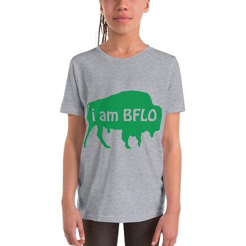 i am BFLO Youth Short Sleeve T-Shirt