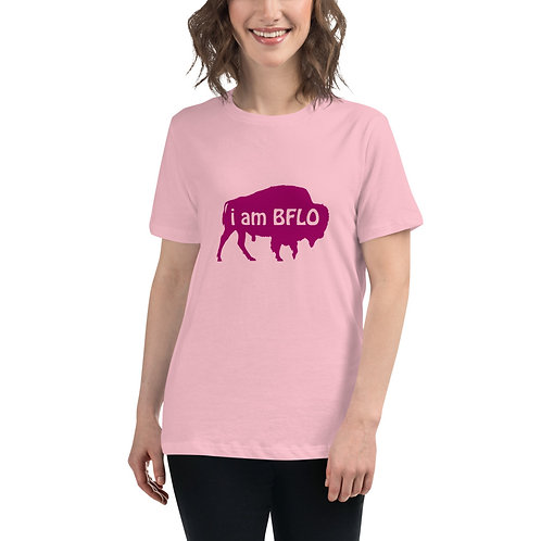 i am BFLO Women's Relaxed T-Shirt