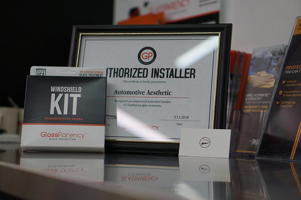 Automotive Aesthetic's Certification