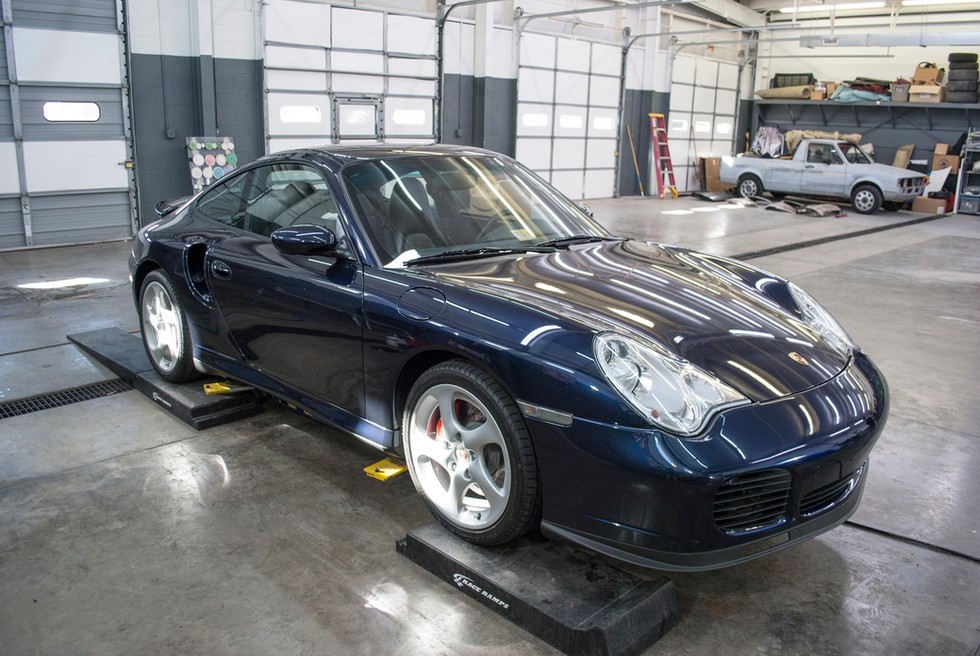 996 Turbo X50 Package | Maintenance Wash & Undercarriage