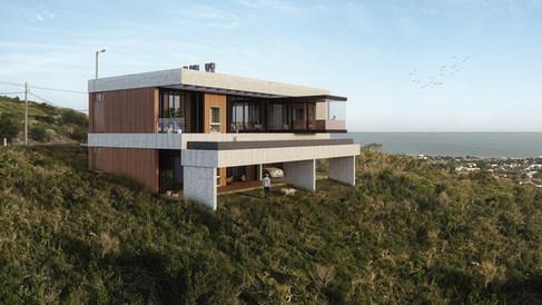 House on the hill   Piriapolis, Uruguay