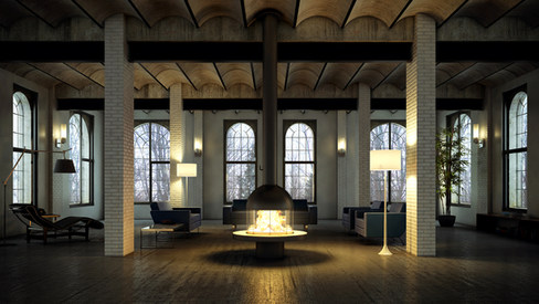 Shimera I Fireplace 02 I Belgium