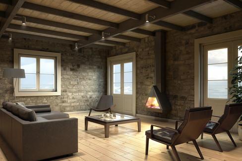 Shimera I Fireplace 04 I Belgium