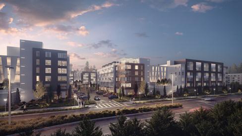 Residential Blocks   NGP   Seattle, Washington