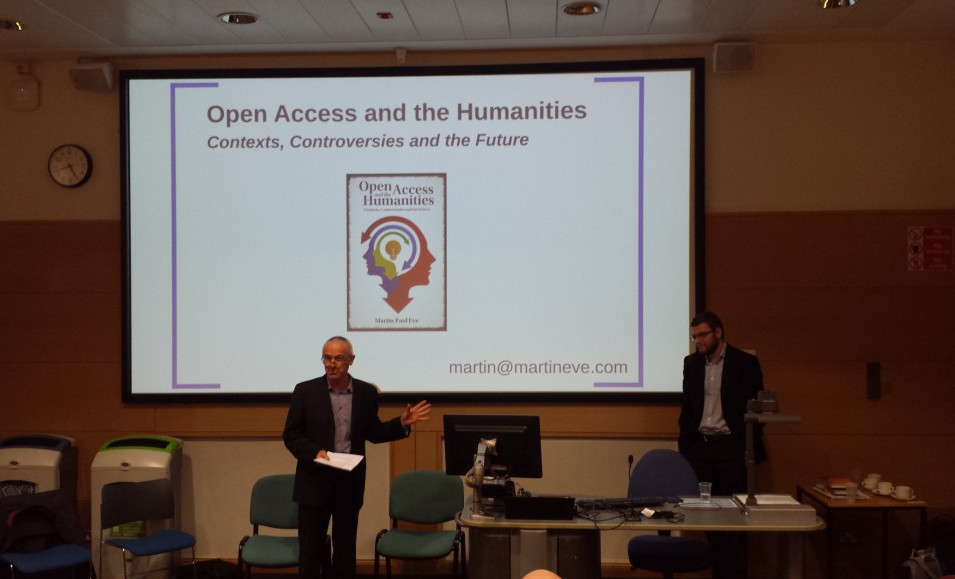 Phil Powrie at the Open Access and the Humanities Forum