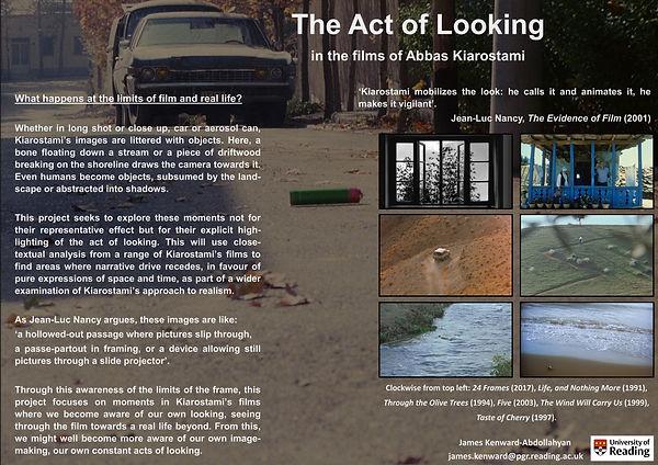 Kenward-Abdollahyan Act of Looking Kiaro