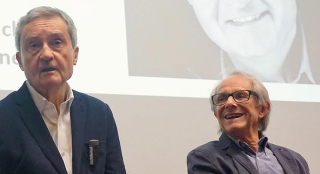 Tony Garnett and Ken Loach, 2018