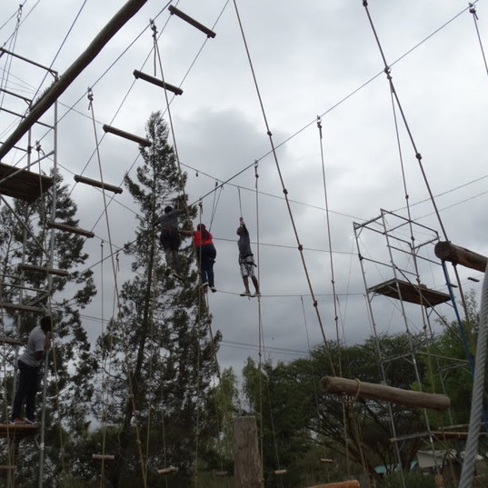 High ropes Kenya