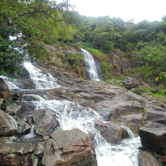 Waterfalls in Kenya- UrbaniteCamps