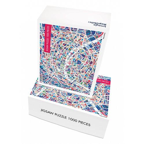 Puzzle ANTOINE CORBINEAU PARIS 1000 pièces