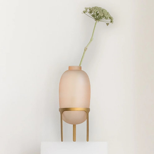Vase sur pied PINK