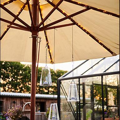 Guirlande de parasol solaire KNIRKE