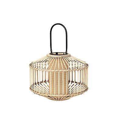 Lanterne FLAX bambou/métal PM