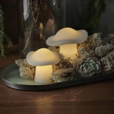 Ensemble de 2 champignons lumineux ELISA