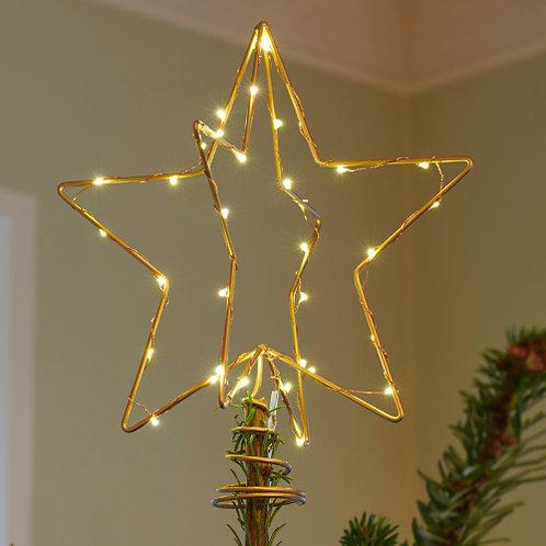 Etoile de sapin de Noël CHRISTINA