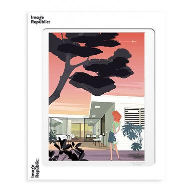 Copie de Tirage MONSIEUR Z THE STAHL HOUSE 40x50 cm