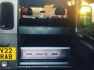 New 2018 Land Rover Defender Gun Box has arrived ......