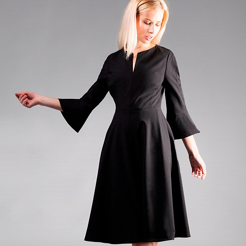 Fluted dress