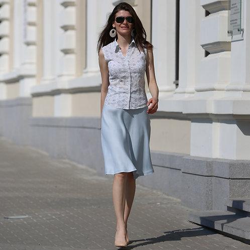 Soft flared skirt
