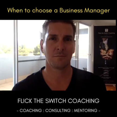 When to Choose a Business Manager