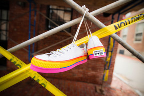 Chuck Taylor All Star Rainbow Platform