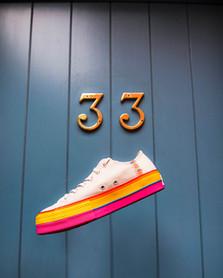 Chuck Taylor All Star Rainbow Platform