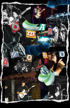 Omar Apollo Collage - $20