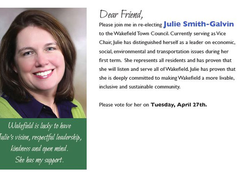 8 Ways to Help Get Julie Re-Elected