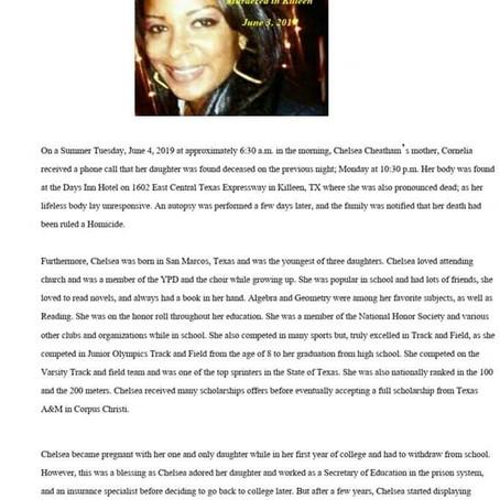 Chelsea Cheatham's Story