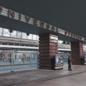 Universal Studios - Main Entrance