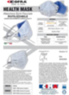 Scheda prodotto - HEALTH MASK - COFRA -
