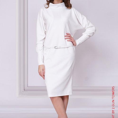 Платье Белое Летучая Мышь