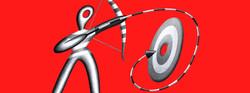 drawing arrow trajectory