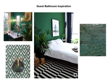 Design Process: Bathroom Inspiration