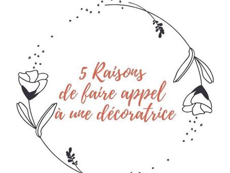 5 raisons de faire appel à une décoratrice
