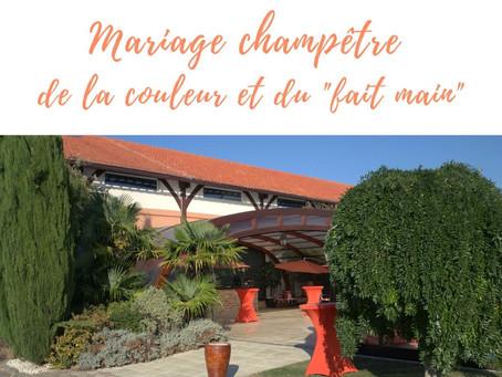 Vrai Mariage : Champêtre, couleurs et DIY